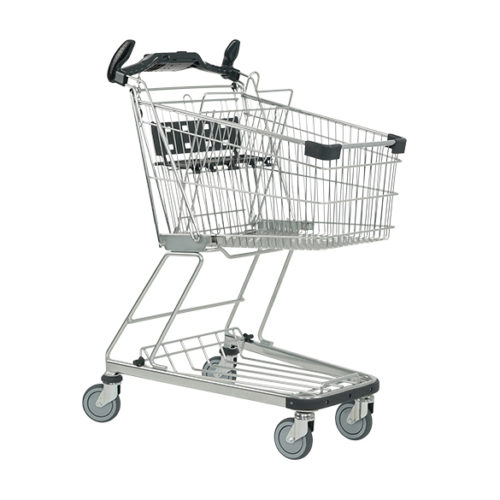Einkaufswagen 90L Kindersitz