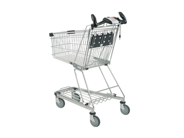 Einkaufswagen 90L Seite