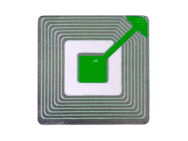 RF Sticker closeup