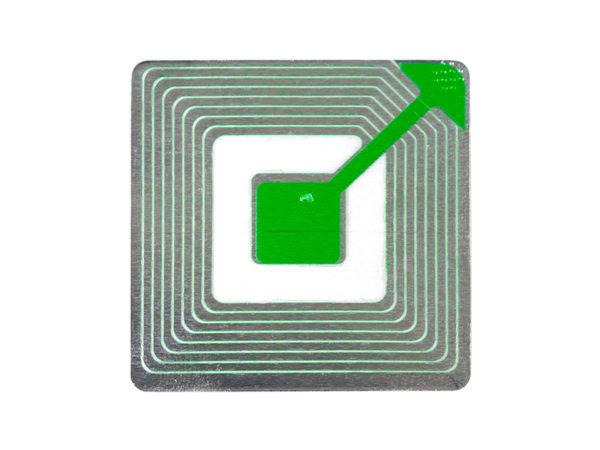RFID Sticker closeup