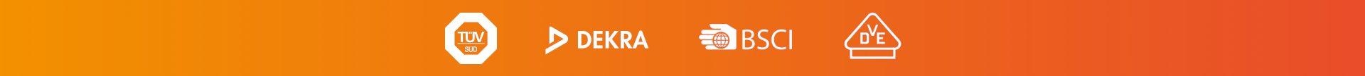Dekra Tüv BSCI Logo