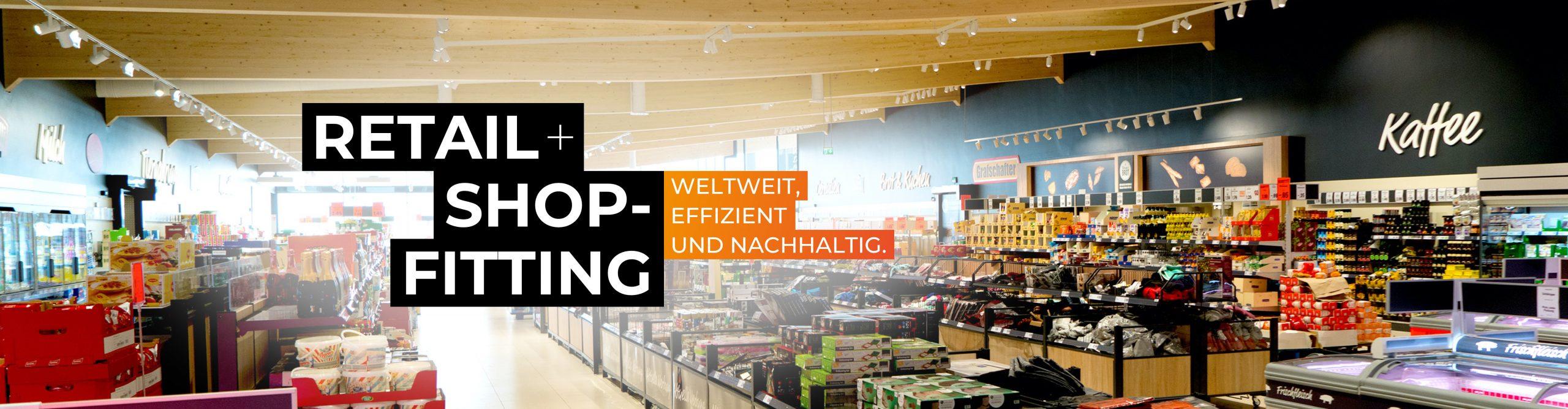 Shopausstattung Retail Header