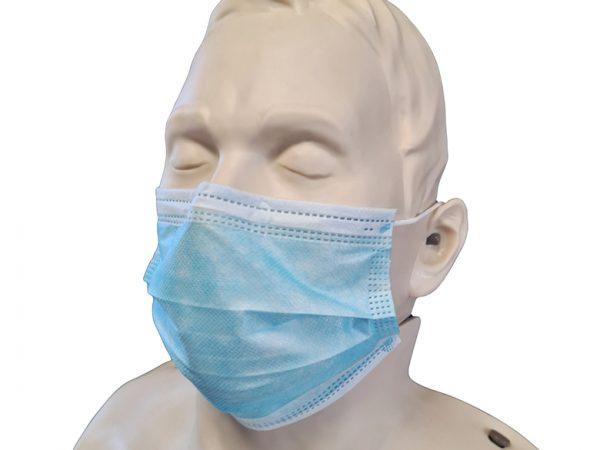 Warenpräsentation Medizinischer Mundschutz