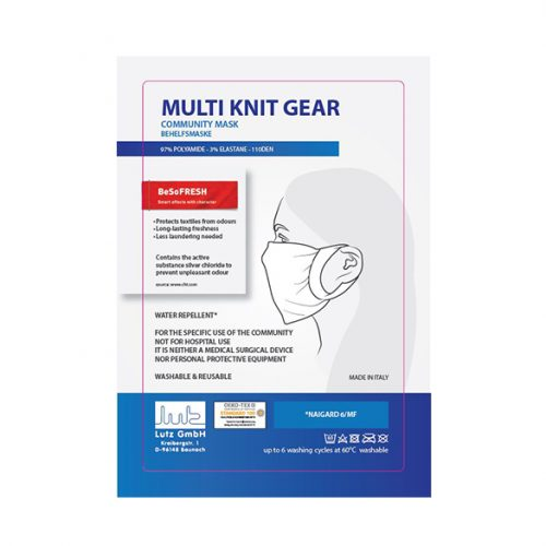 Mutli knit Gear - protective mask