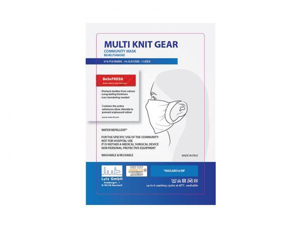 Mutli knit Gear - Mehrwegmaske
