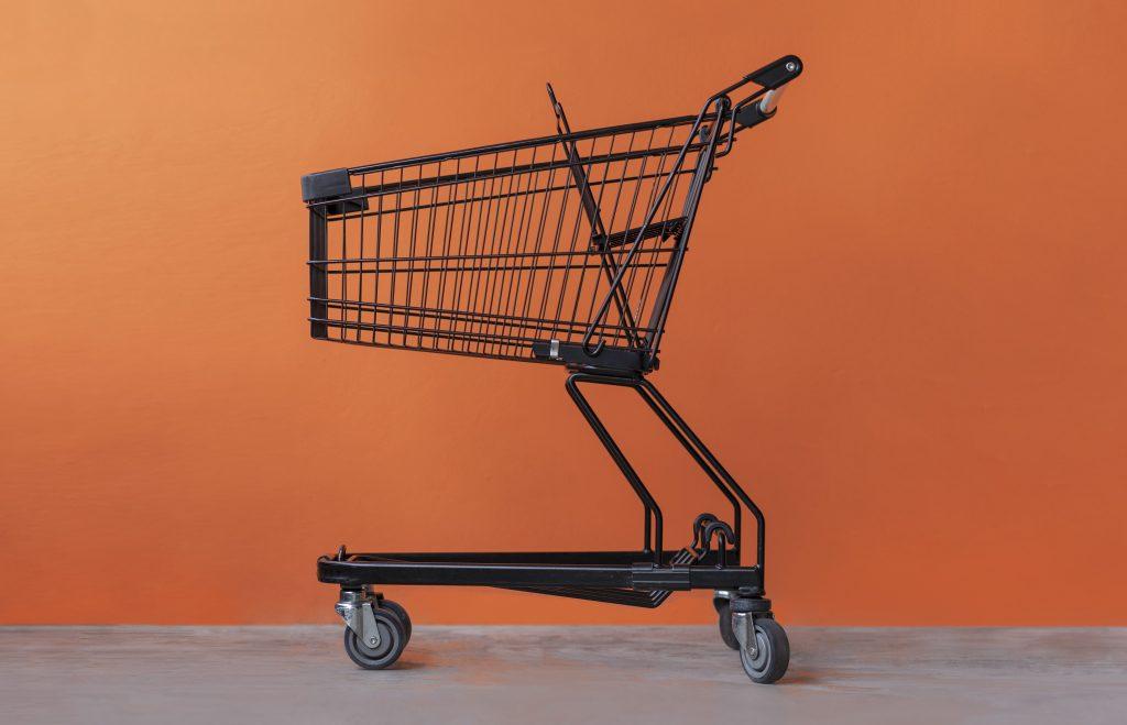 Einkaufswagen Orange Wide