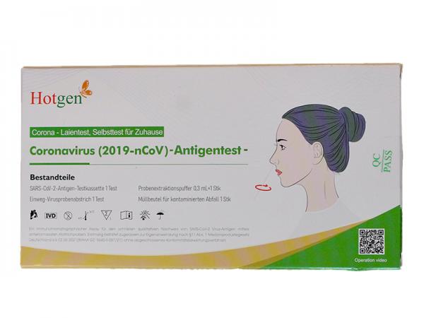 Covid19 Antigen-Schnelltest Titelbild
