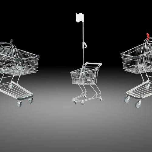 Titelbild SAPS Einkaufswagen