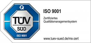 Zertifizierung DIN EN ISO 9001:2015